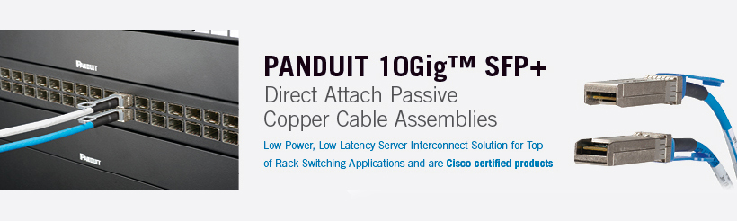 Patch Cords From Panduit