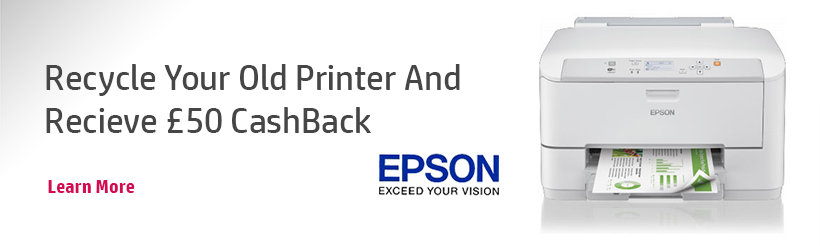 Epson Recycle Banner