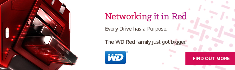 WD Networking In Red